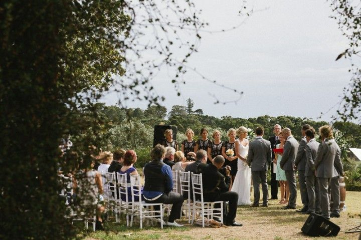 Tegan and Dean's Beachside Rustic Wedding. By Free the Bird Photography