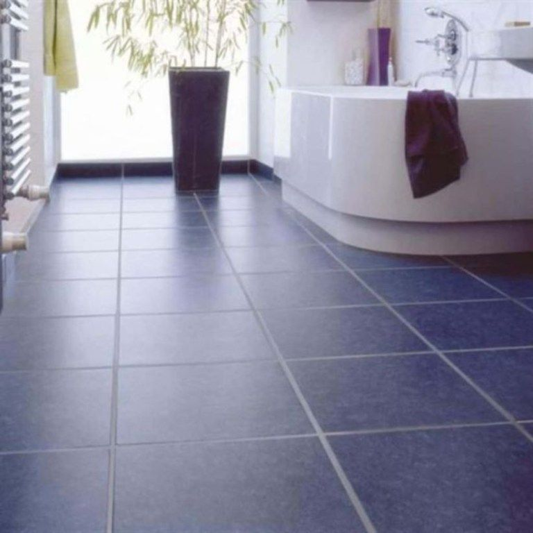 16 Lovely Tile Floor for Your Bathroom and Kitchen | Vinyl flooring bathroom, Bathroom vinyl ...