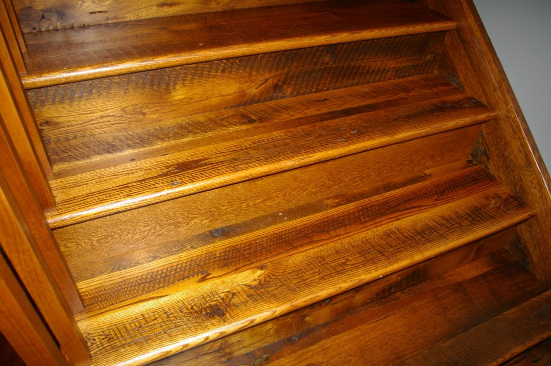 Best Barn Board Oak Stair Treads And Risers Stairs Treads 400 x 300