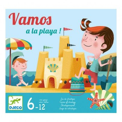 Djeco Vamos a la playa! Tactical Game `One size Details : 15 minutes * From 2 to 4 years old, player(s) * Age : From 4 to 8 * Box 30 x 28 x 6 cm. http://www.MightGet.com/january-2017-13/djeco-vamos-a-la-playa!-tactical-game-one-size.asp