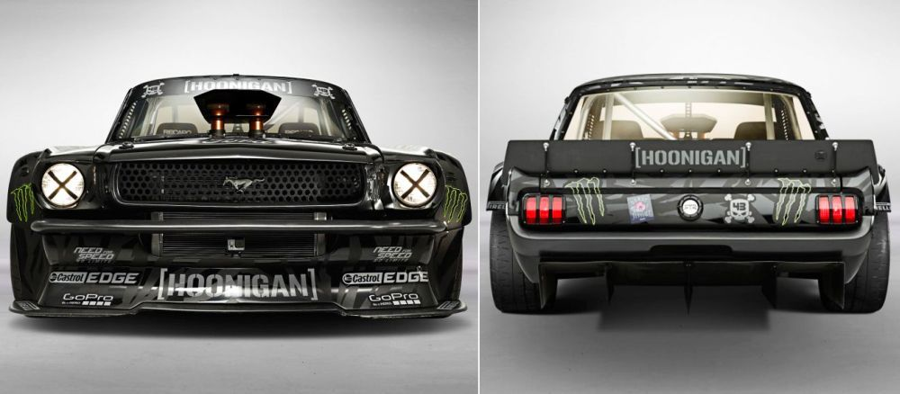 Ford Mustang Hoonicorn Rtr For Gymkhana 7 By Ken Block Mustang