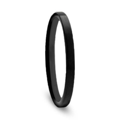 Womens Wedding Band Thin Black Ceramic Ring Flat Profile Thw589 Fbbt In 2020 Black Ceramic Ring Womens Wedding Bands Ceramic Wedding Bands