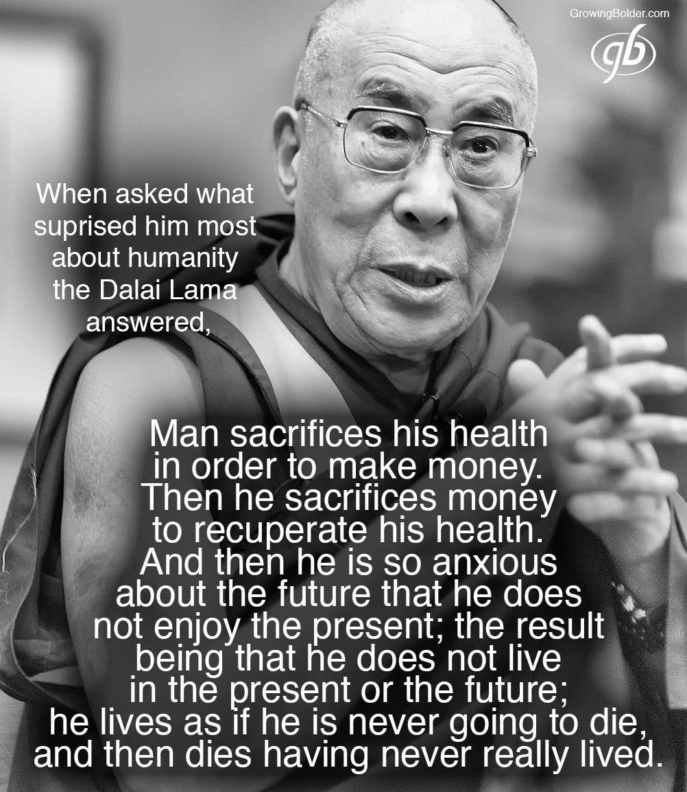Dalai Lama Quotes Human Life