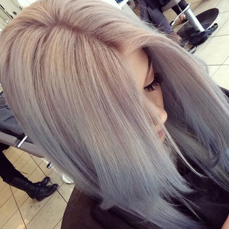 Pastel Ombre Smoked Amethyst And Ocean Storm Instamatic Colors By Wella Pinterest Annevxo Unnatural Hair Color Hair Color Options Lilac Hair Color