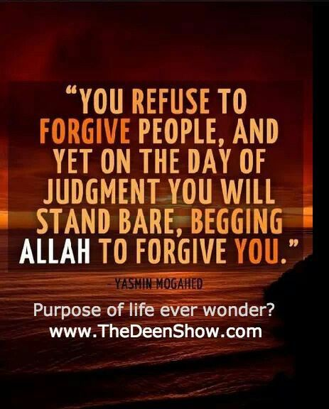 How many times should we forgive a person?