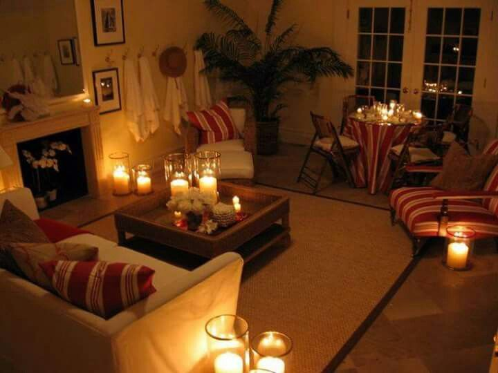 Cozy Living Room Candle Lit My Fav Candle Room Decor Candle Decor Living Room Candle Decor Bedroom