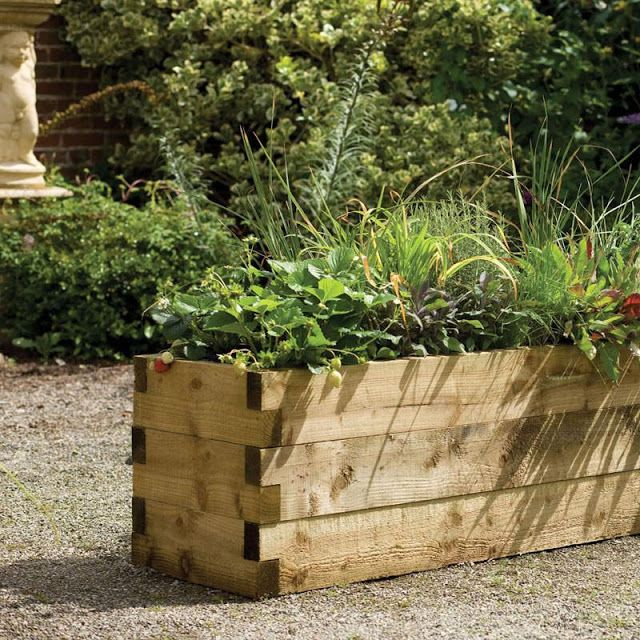 Gardens · Raised Cedar Plank Beds. | Color Outside The Lines: 07/27/10