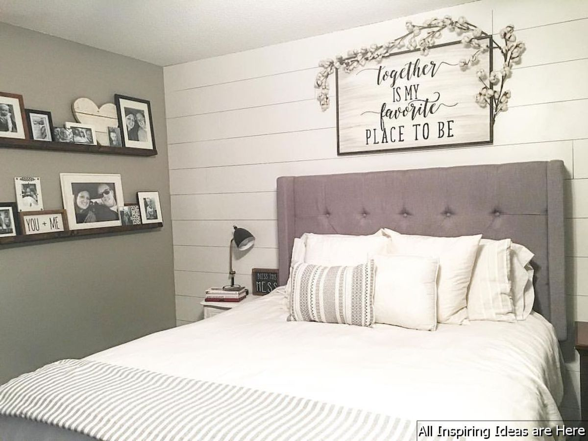 Incredible Modern Farmhouse Bedroom Decor Ideas 001 With Images