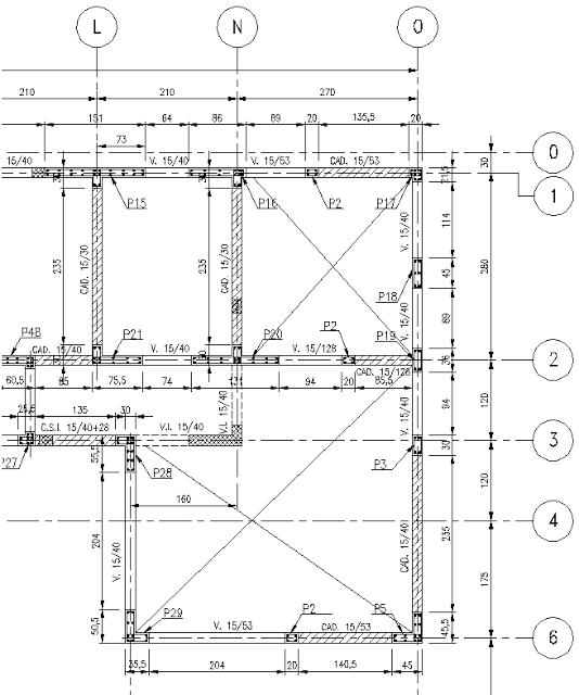 Ipa2201 interpretacion de planos planos estructura for Planos estructurales pdf