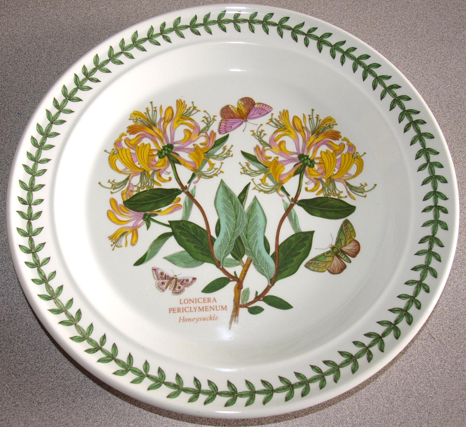 Portmeirion Botanic Garden 10 5 Dinner Plate In Honeysuckle