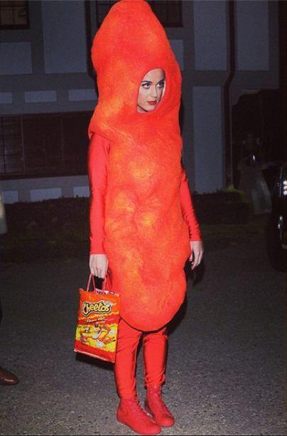 Katy Perry as a Flamin' HotCheeto