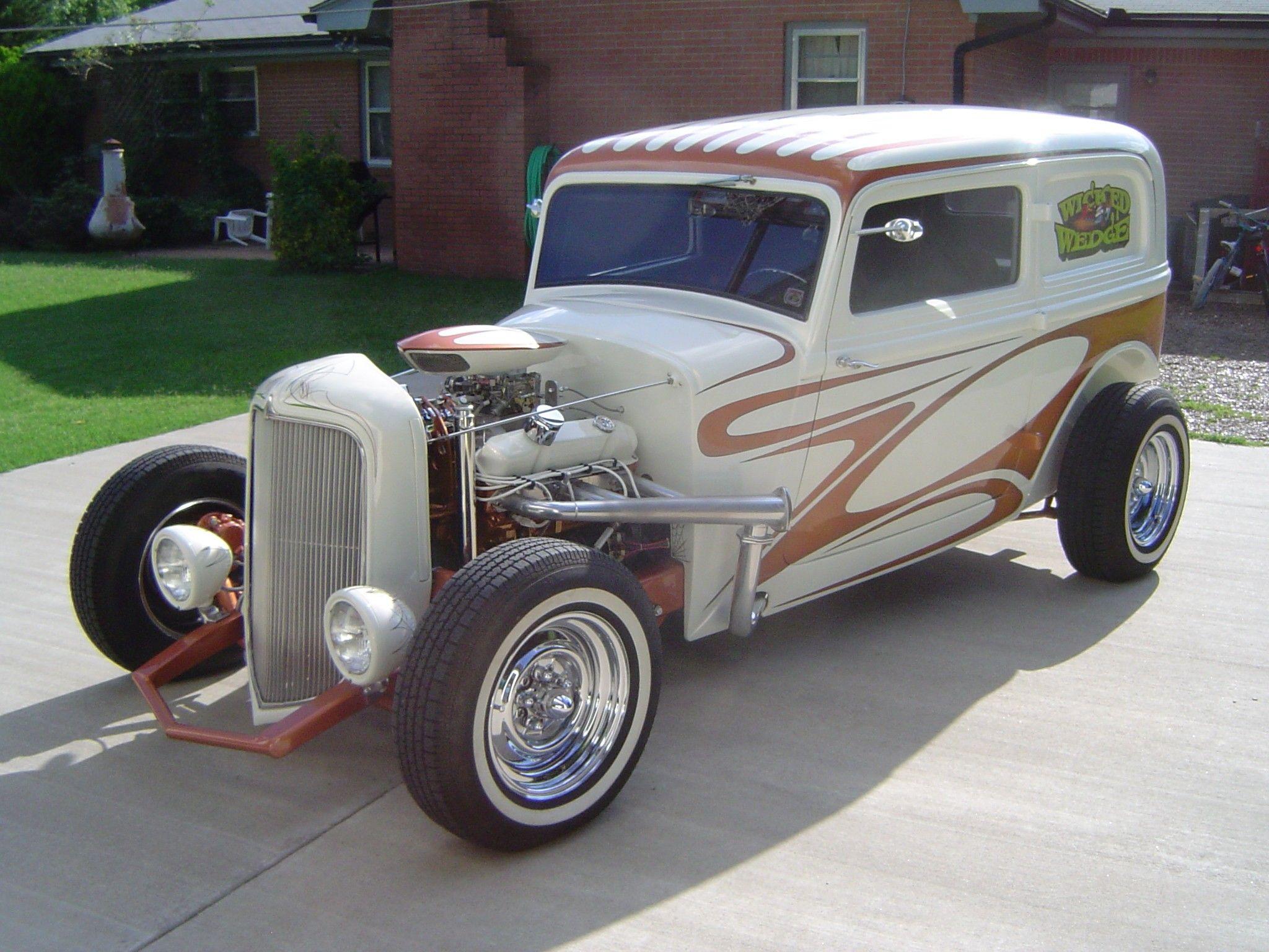 Motor\'n New | For sale 1934 Custom Plymouth Hi-Boy Sedan Street ...