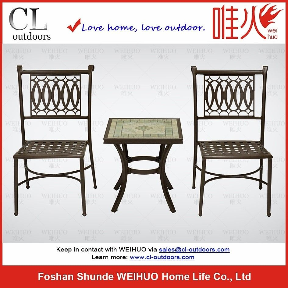 Aluminum Garden Furniture Manufacturers