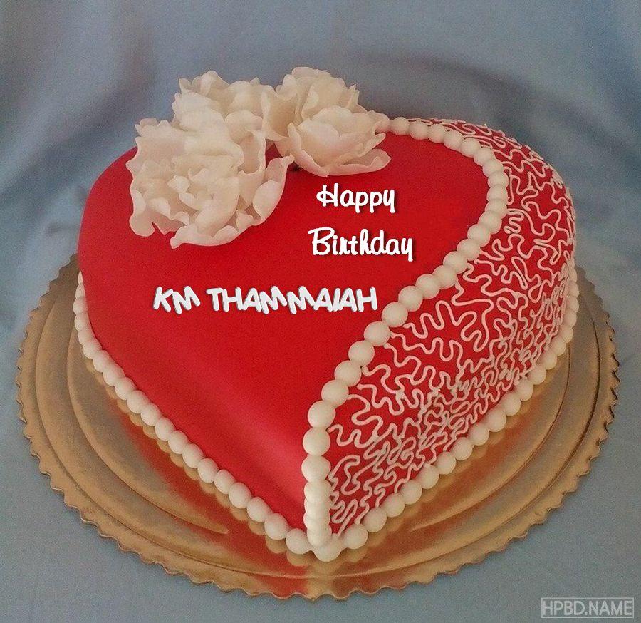 write name on heart love birthday cake pic  sweet