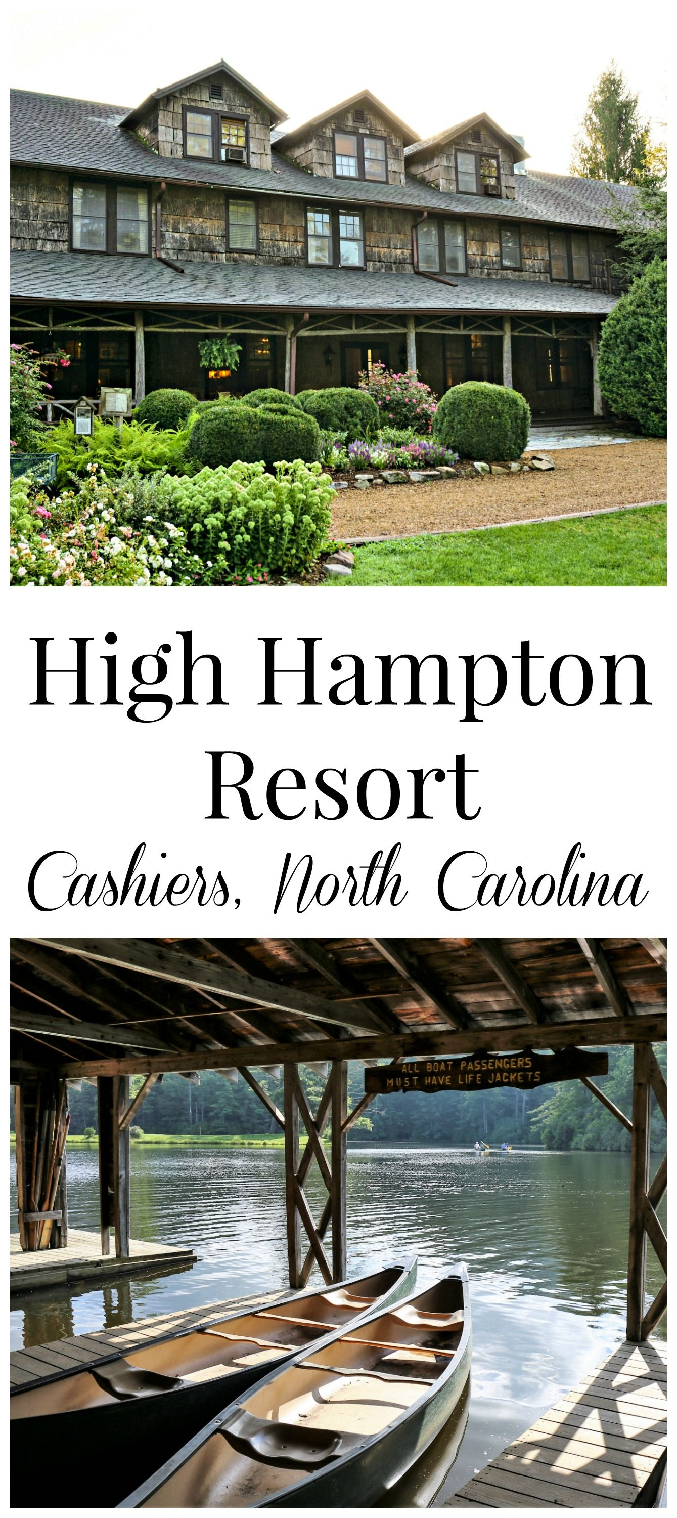The High Hampton Resort In Cashiers, NC Is A Magical