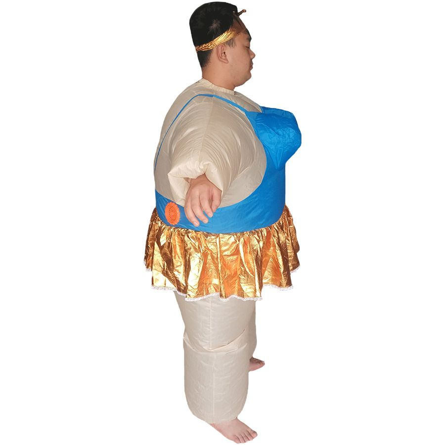 Inflatable Ballerina Costume for Adults Carnival Halloween Cosplay Party Dresses