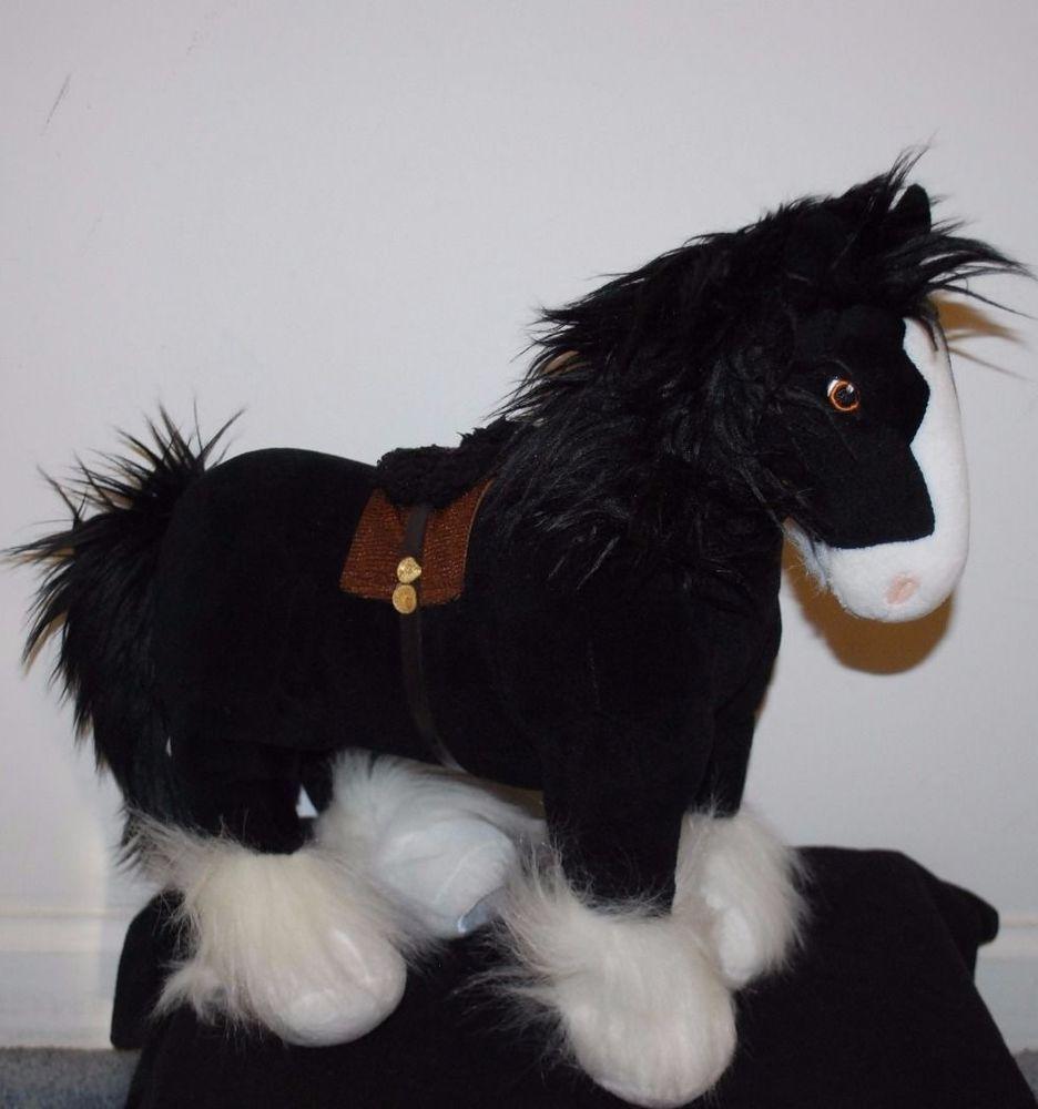 disney store authentic brave angus plush toy merida's horse stuffed