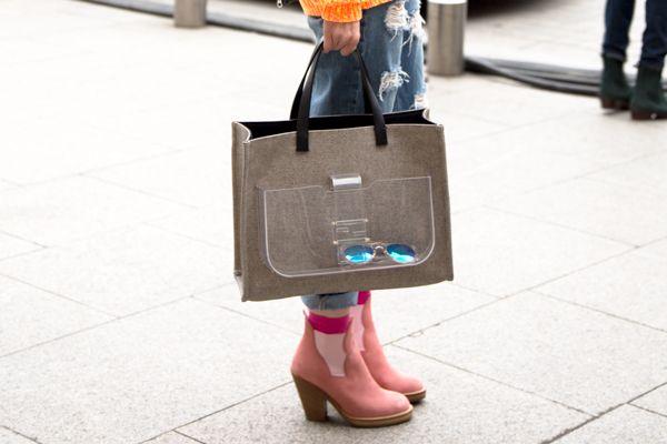 Paris Fashion Week 2013 #Streetstyle before Isabel Marant #PFW #blogger #Fashion #glasses #bags