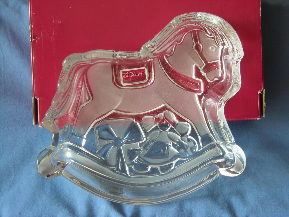 Celebrations By Mikasa Rocking Horse Candy Dish Free Shipping!!!