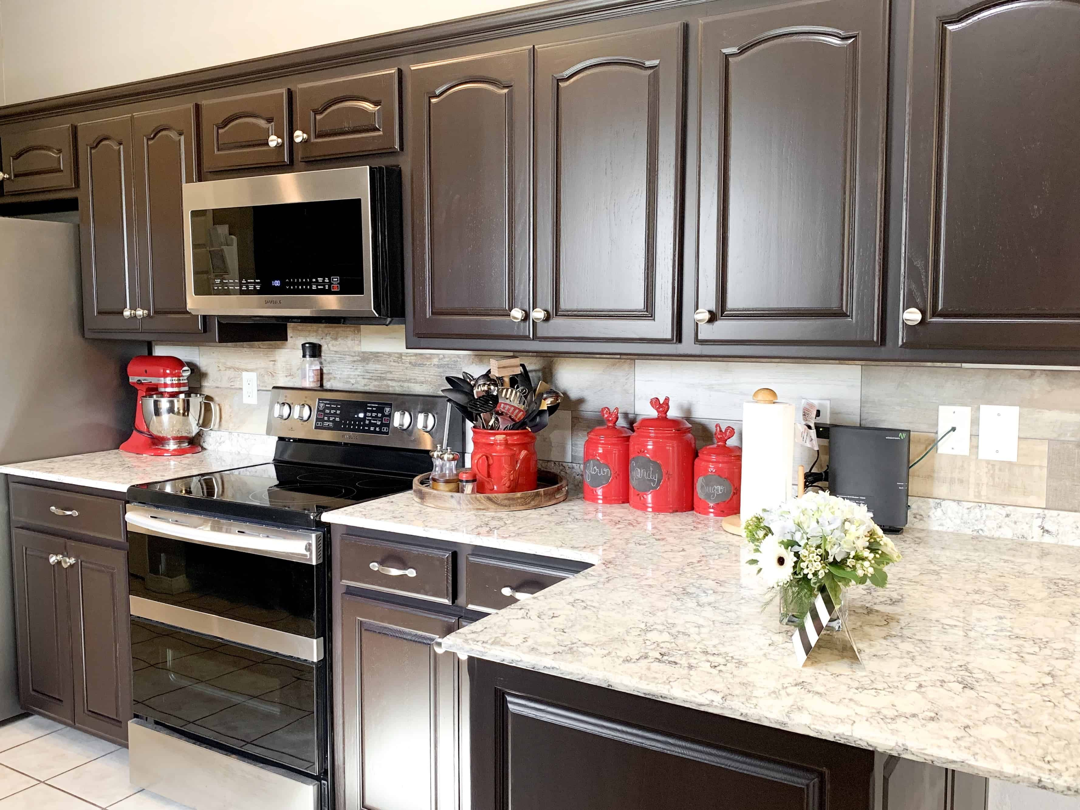Best Of Can You Paint Kitchen Cabinets Dark Brown And Pics In 2020 Brown Kitchen Cabinets Dark Kitchen Cabinets White Kitchen Cabinets