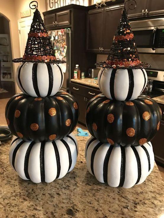 50+ rzeczy Halloween, które musisz znać - Home Decor #fallfrontporchdecor