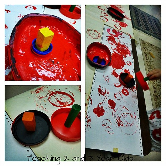 Art Activities with Toddlers- Teaching 2 and 3 Year Olds