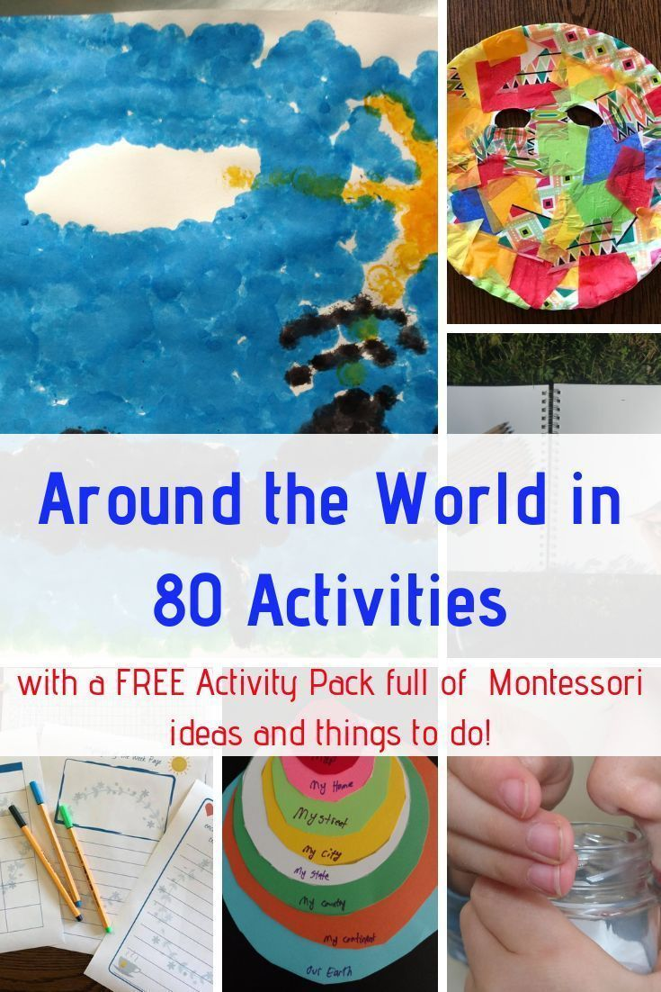 Photo of Study the World With Montessori Activities