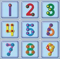 'Touch Math'... my favorite multi-sensory math curriculum.