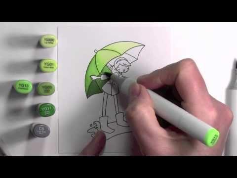 зонтики рисунок маркерами фотограф сумах