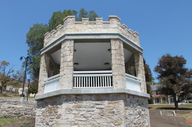 Riverside Bandstand On Riverside Ave Usdb Fort Leavenworth Kansas Fort Leavenworth Fort Leavenworth Kansas Leavenworth