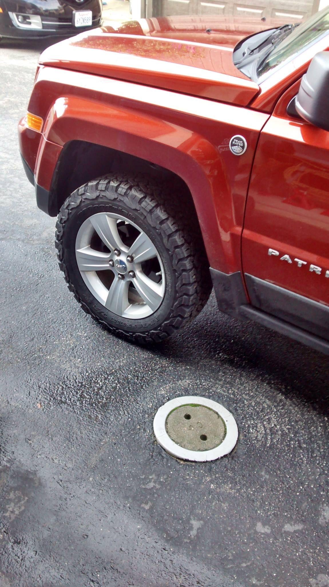 jeep patriot rro lift spacers 225 65r17 bfgoodrich all terrain t a ko2 tires jeep. Black Bedroom Furniture Sets. Home Design Ideas