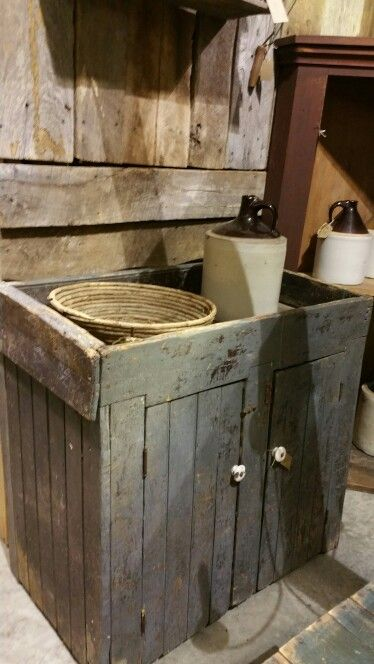 Primitive Dry Sink For Sale At Route 66 Antique Mall
