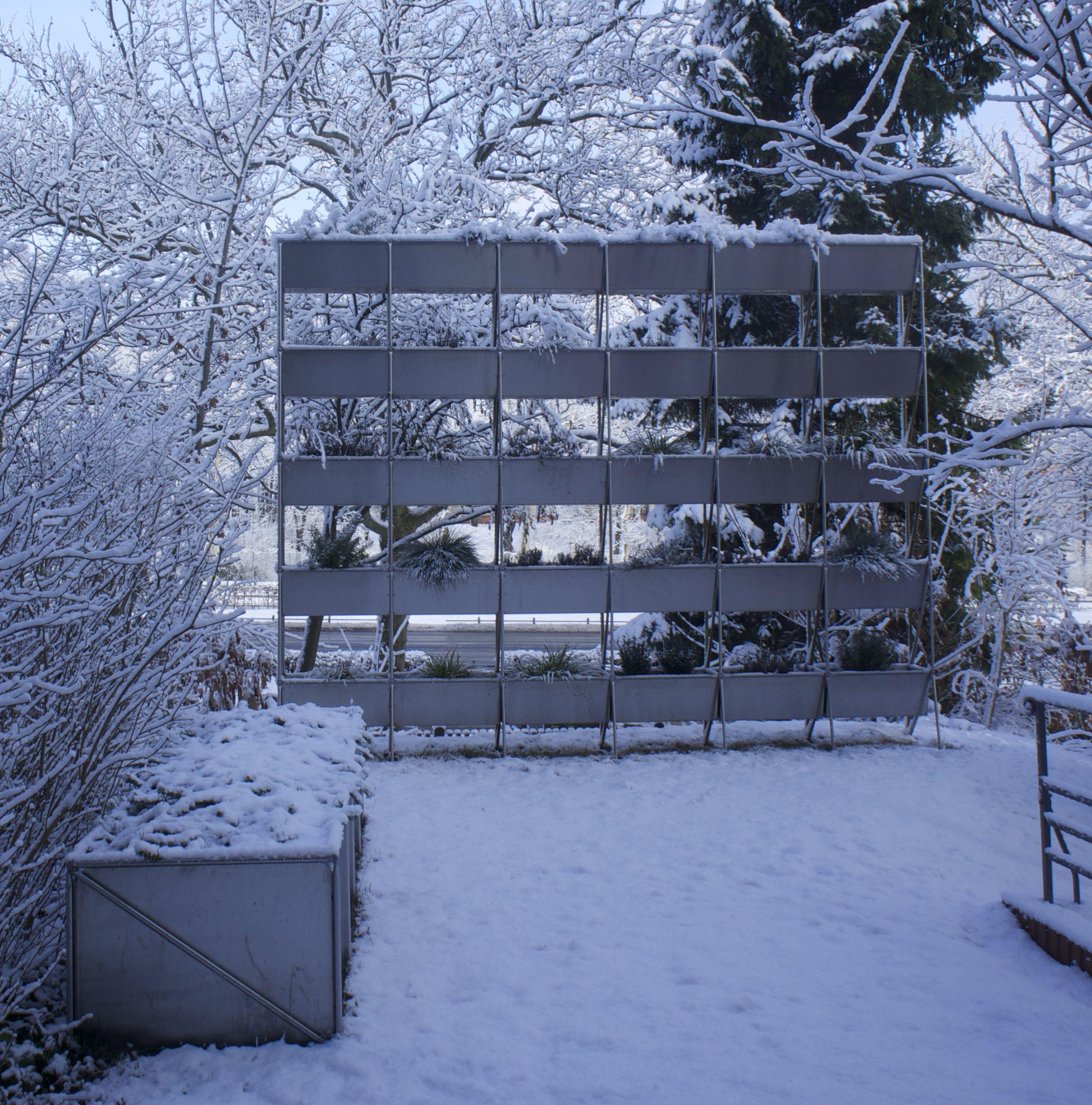 Hängende Gärten im Winter