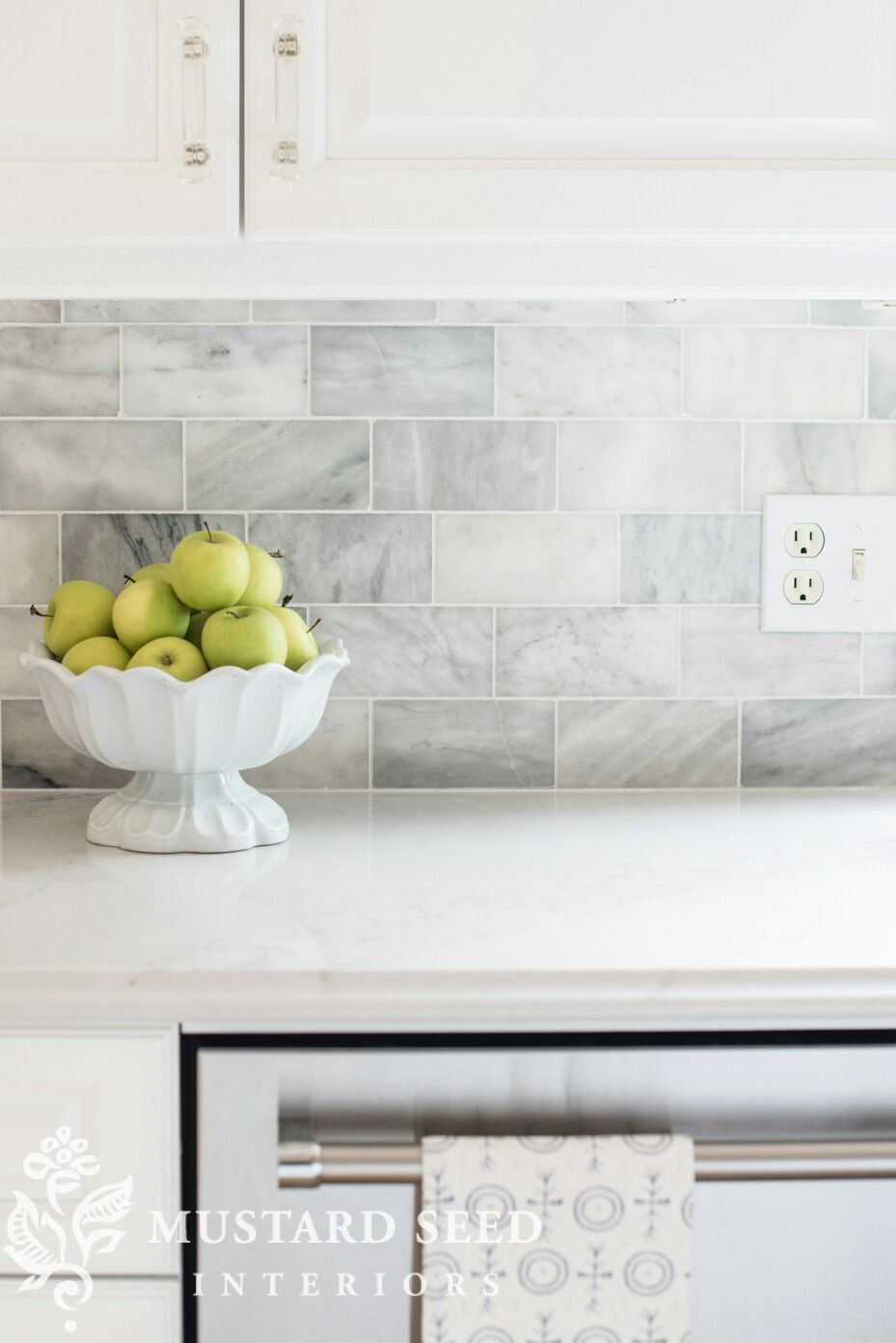 Venatino Subway Tile From Lowe S Farmhouse Kitchen Inspiration