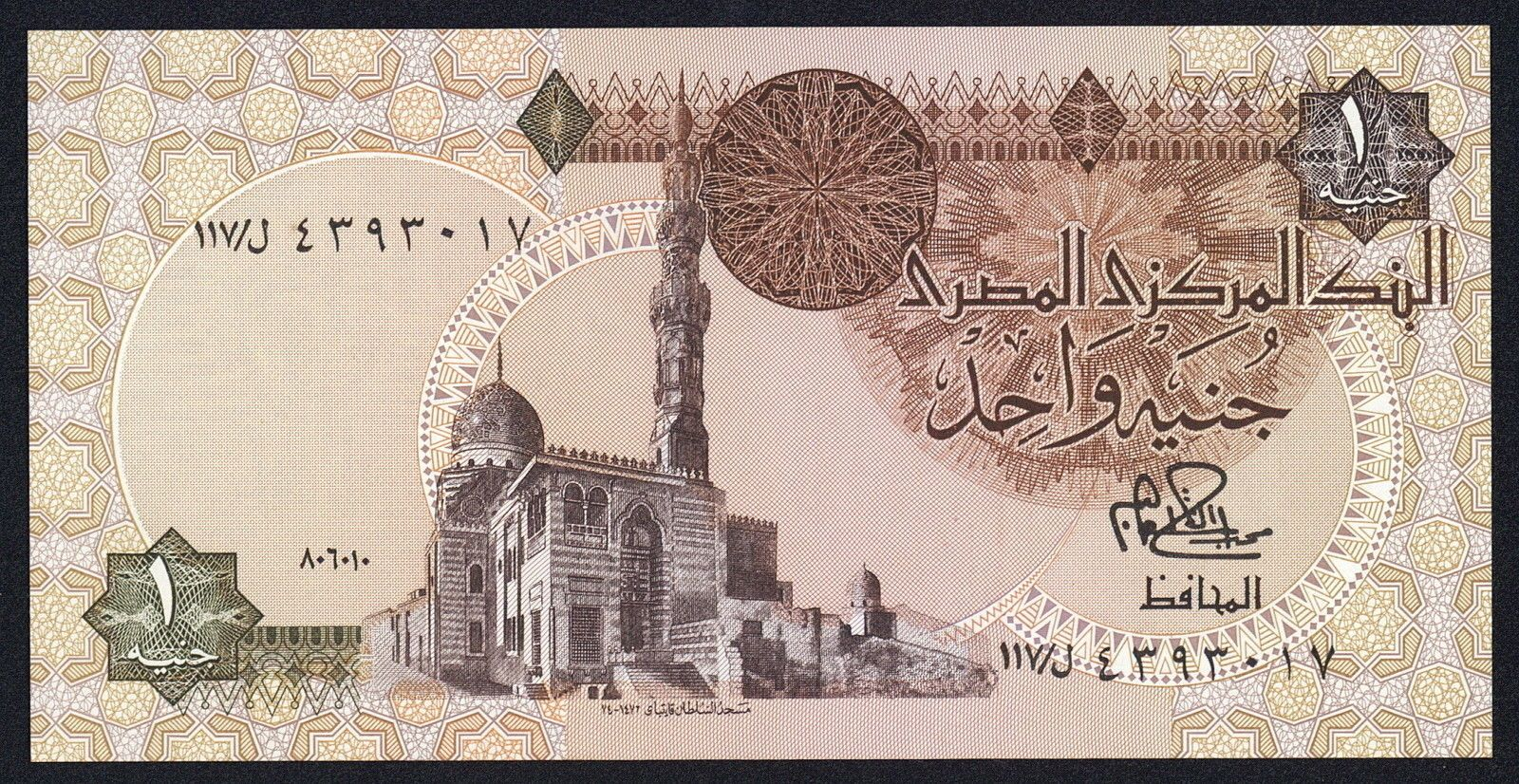 EGYPT UN-CIRCULATED BRAND NEW 50 EGYPTIAN POUND UNCIRCULATED BANKNOTE