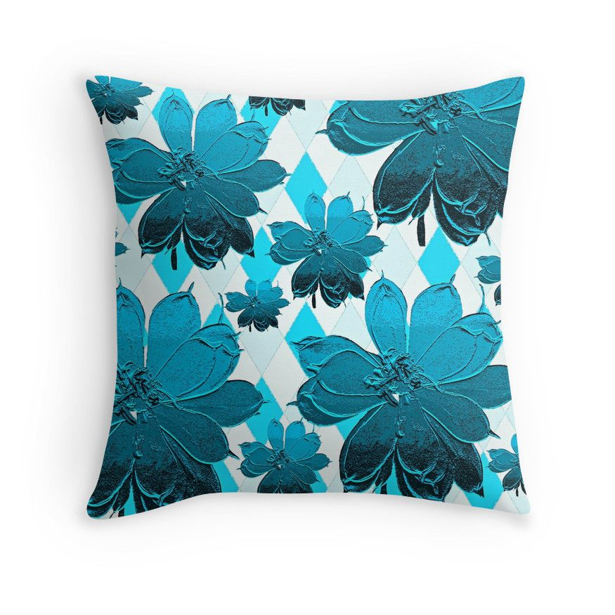 Lily Blue Floral