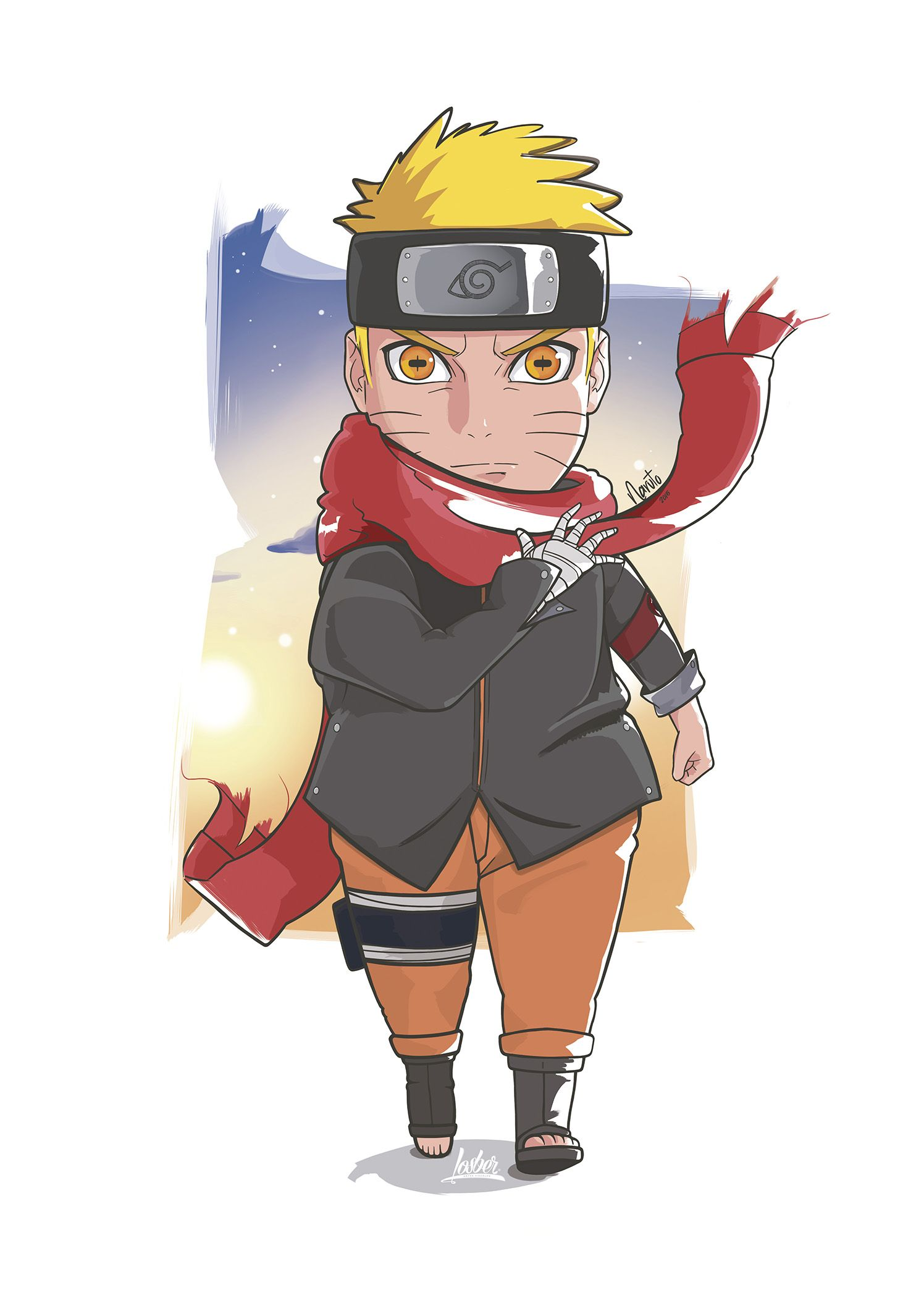 Naruto (The Last) Ilustration Ilustracion DigitalArt