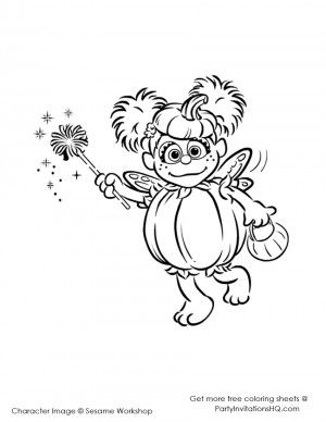 Abby Cadabby Coloring Pages 10