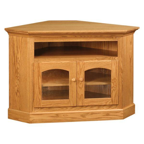 Red Oak Corner Tv Stand Oak Corner Tv Stand Wood Corner Tv Stand Tv Stand Wood