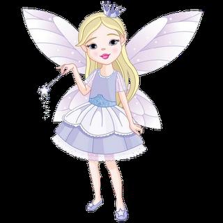 Fairy cute. Clip art cartoon fairies
