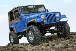 New Jeep Wrangler Yj 4 Suspension Lift Kit From Zone Offroad Products Coches Y Motocicletas Jeep Coches