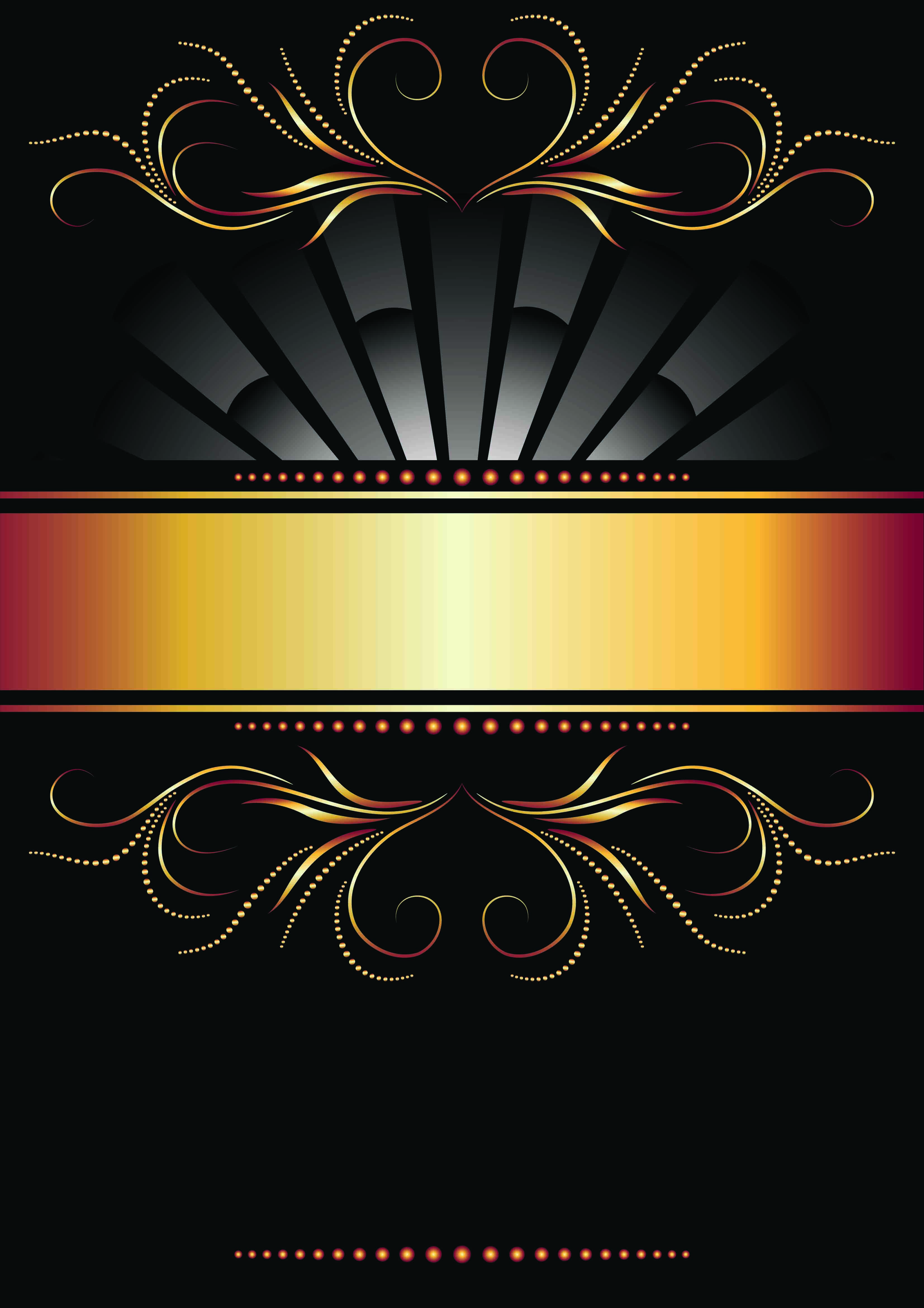 Wallpapers For Black And Gold Background Poster Background Design Golden Background Black Background Wallpaper