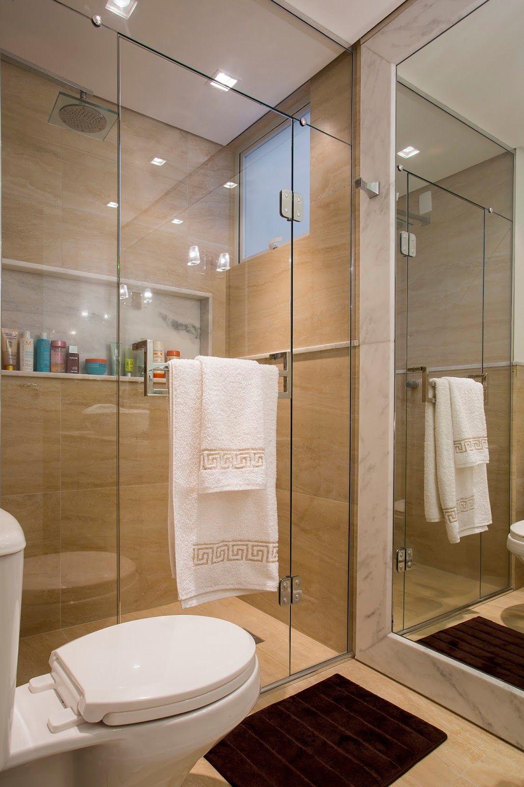 Espelhos antiemba antes em banheiros veja ambientes for Modelos de apartamentos pequenos modernos