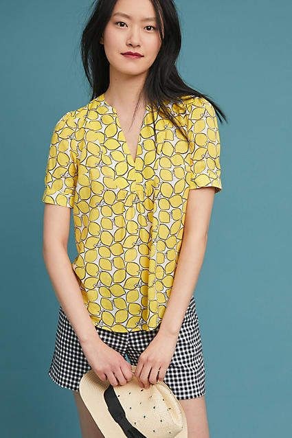 52 Conversations by Anthropologie Colloquial Blouse #ad # ...