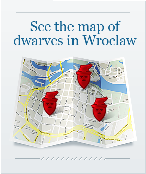 ALL THE GNOMES of Wroclaw, Poland.