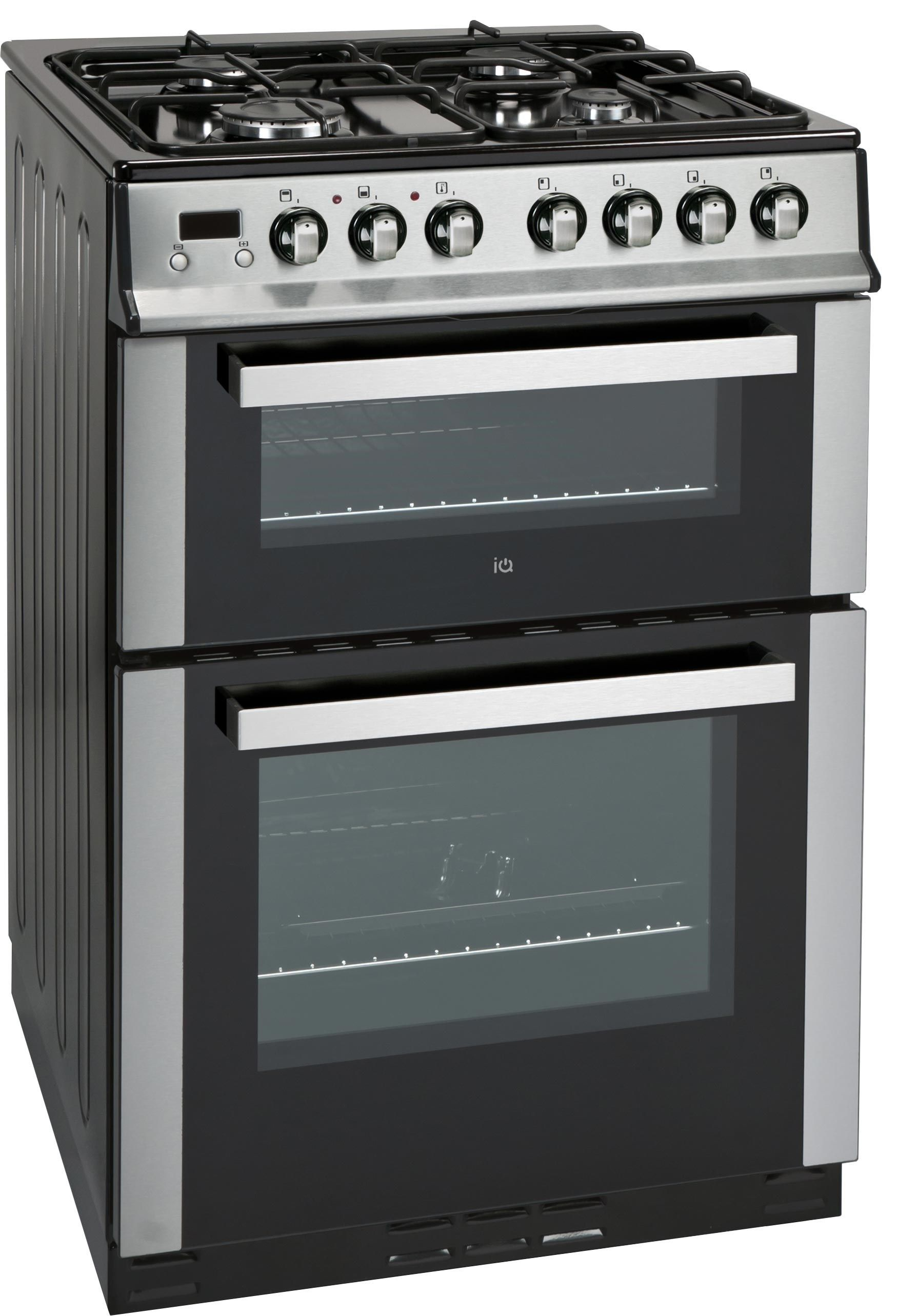 Iqdfc2w60 Stainless Steel Cooker 329 Dual Fuel Cooker Stainless Steel Oven Oven