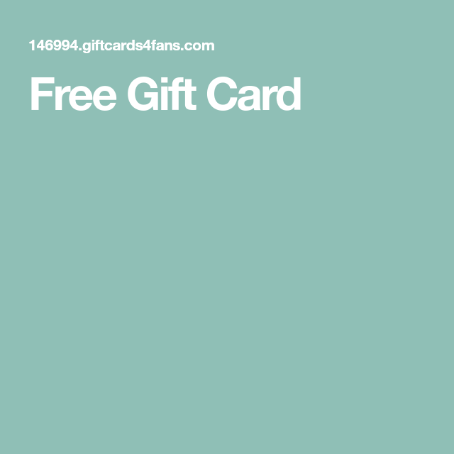 Photo of Free Gift Card
