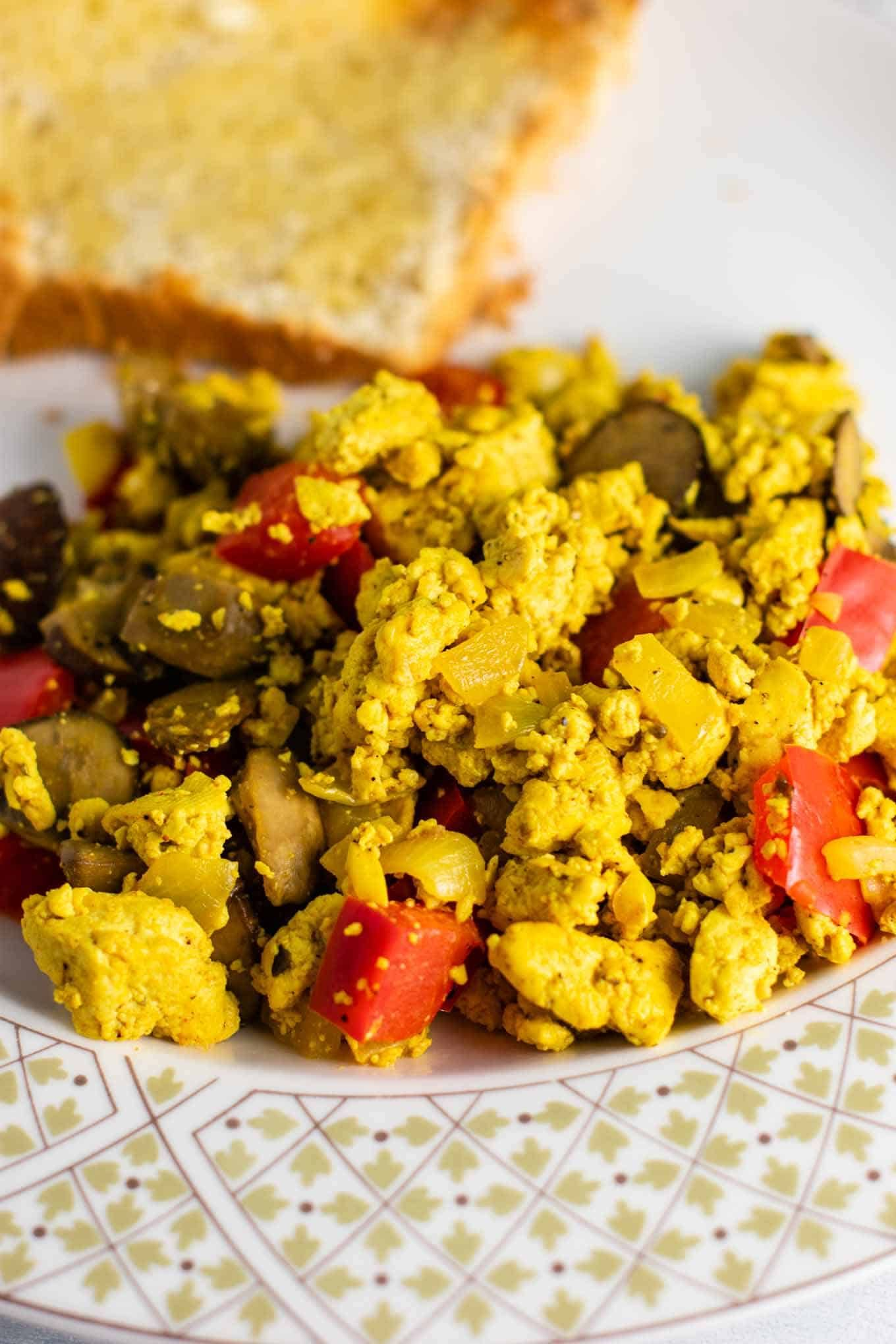 Vegan Breakfast Ideas Delicious Tofu Scrambled Tofu Recipe Tofu Scramble