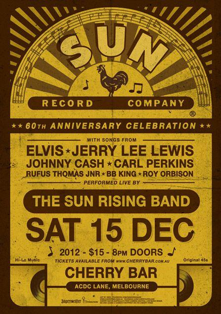 6f1589b2 sun records flyers - Google Search | The Post | Sun records ...