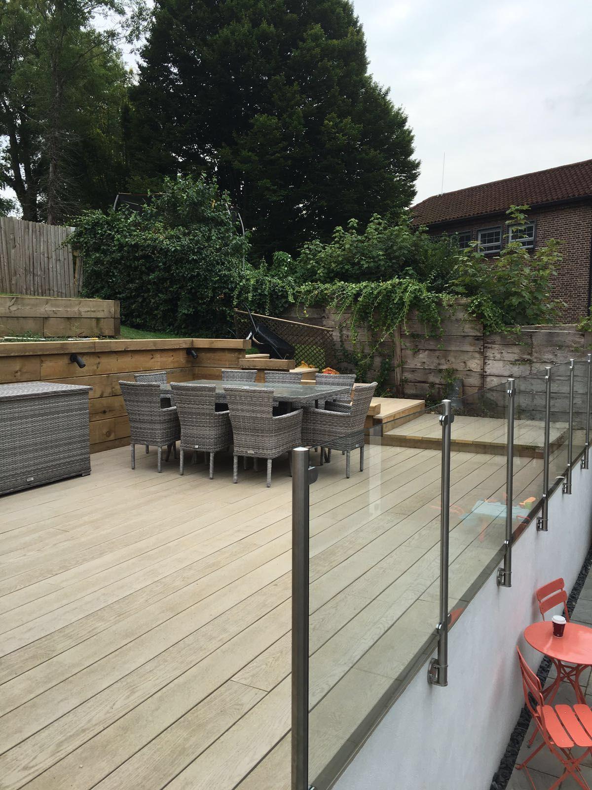 Elite Glass Balustrade   Patio railing, Deck installation ...